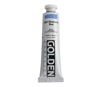 Golden 2oz Light Ultramarine Blue Heavy Body Series 2