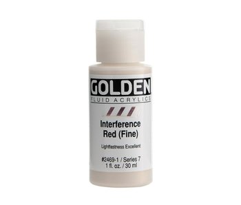 Golden 1oz Fluid Interference Red (Fine) Series 7