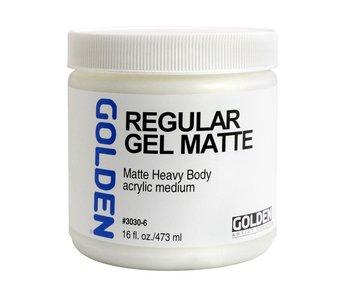 Golden Medium 16oz Regular Gel Matte