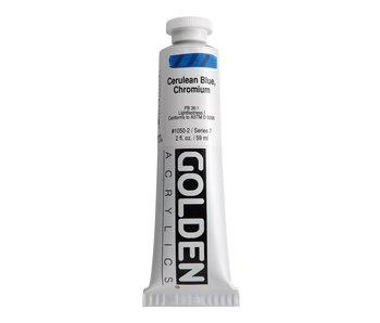Golden 2oz Cerulean Blue Chromium Heavy Body Series 7