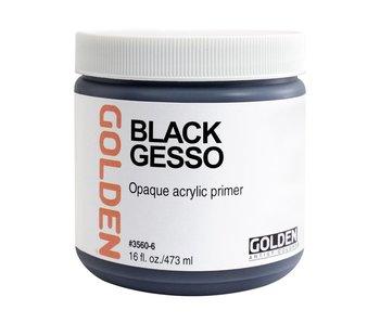Golden Medium 16oz Black Gesso