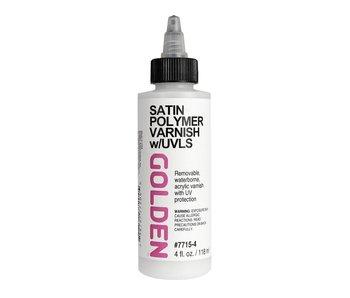 Golden Medium 4oz Satin Polymer Varnish w/UVLS