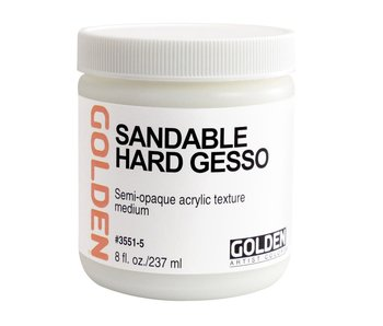 Golden Medium 8oz Sandable Hard Gesso