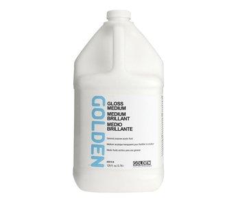 Golden Medium 128oz Polymer Gloss