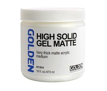 Golden Medium 16oz High Solid Gel Matte