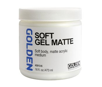 Golden Medium 16oz Soft Gel Matte