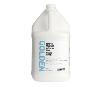 Golden Medium 128oz Matte Medium