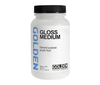 Golden Acrylic Gloss Medium 8oz