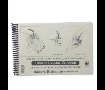 ROBERT BATEMAN RECYCLED SKETCHBOOK 6X9