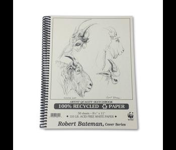 ROBERT BATEMAN RECYCLED SKETCHBOOK 8.5x11
