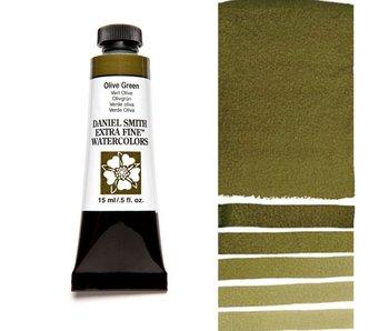 DANIEL SMITH XF WATERCOLOR 15ML OLIVE GREEN