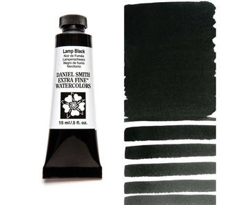 DANIEL SMITH XF WATERCOLOR 15ML LAMP BLACK