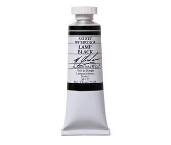 M. GRAHAM WATERCOLOUR 15ML LAMP BLACK