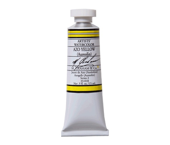 M. GRAHAM WATERCOLOUR 15ML AZO YELLOW (AUREOLIN)