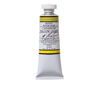 M. GRAHAM WATERCOLOUR 15ML CADMIUM YELLOW LIGHT