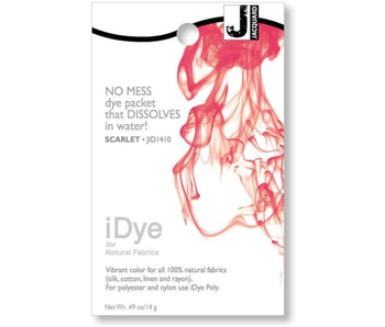 IDYE FOR NATURAL FABRICS SCARLET