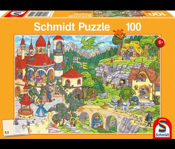 SCHMIDT PUZZLE 100: A FAIRYTALE KINGDOM