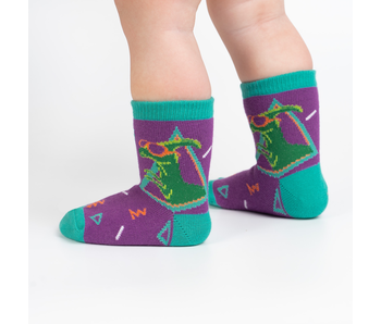 SOCK IT TO ME: TODDLER CREW JURASSIC PARTY