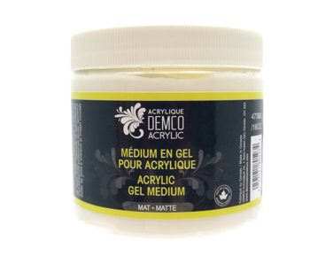 Demco Acrylic Gel Matte Medium 8oz