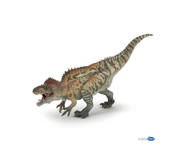 With the dinosaurs, tread the Jurassic earth, meet the legendary T-Rex, walk through vast plains with the velociraptor or fly with a pteranodon.  Reference  55062  Dimensions :  28.00 cm x 6.30 cm x 15.40 cm (Lxlxh)  Poids :  0.30 Kgs