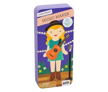 PETITCOLLAGE - MUSIC MAKER MAGNETIC DRESS UP