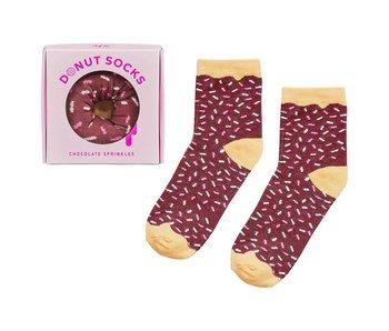 Donut Socks - Chocolate Sprinkles Socks