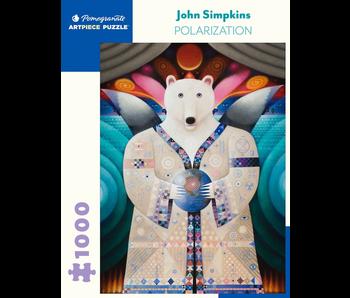 POMEGRANATE ARTPIECE PUZZLE 1000 PIECE: JOHN SIMPKINS POLARIZATION