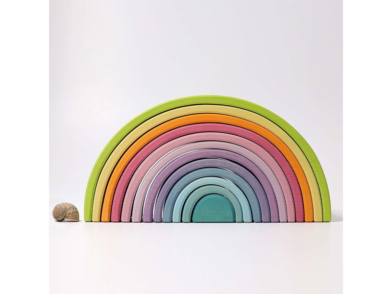 GRIMM'S SPIEL UND HOLZ IDEAS FOR PLAYING: PASTEL TUNNEL LARGE