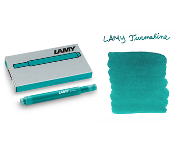 Lamy Ink Cartridge T10 5 per pack Turmaline