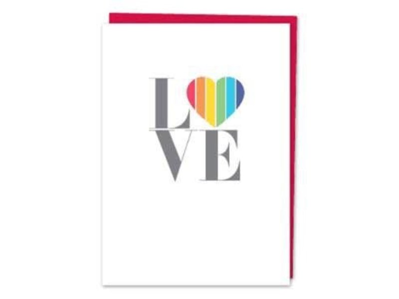 DESIGN WITH HEART CARD - LOVE AND FRIENDSHIP - LOVE