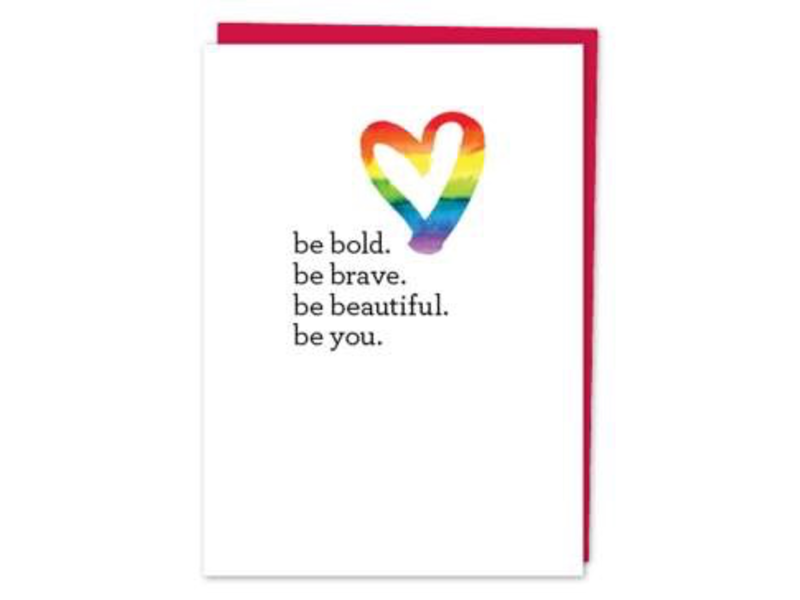 DESIGN WITH HEART CARD - LOVE AND FRIENDSHIP - BE YOU