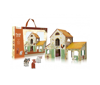 AVENUE MANDARINE PUZZLE DECOR: FARM