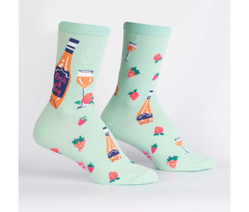 SOCK IT TO ME: WOMENS CREW SOCKS - Rose All Day