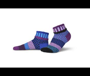 Solmate Socks Adult Quarter Raspberry Medium
