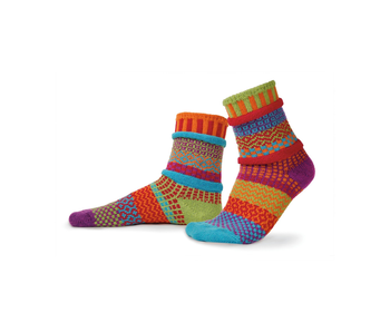 Solmate Socks Adult Crew Cosmo Large