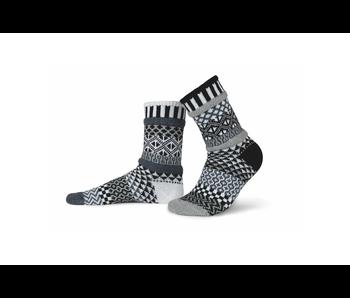 Solmate Socks Adult Crew Midnight Medium
