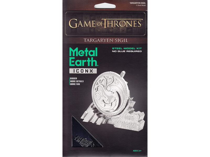 Metal Earth 3D Model Game of Thrones Targaryen Sigil