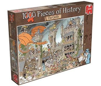 Jumbo Puzzle 1000 Piece The Castle, Pieces of History