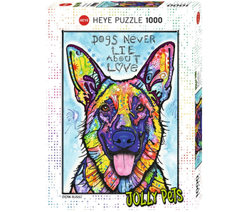 Heye Puzzle 1000 pcs, Dogs Never Lie, Jolly Pets