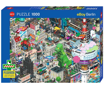 Heye Puzzle 1000 pcs Berlin Quest