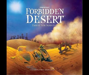 LE DESERT INTERDIT - EN FRANCAIS (FORBIDDEN DESERT) GAME TIN