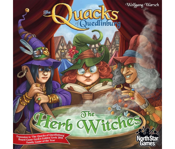 THE QUACKS OF QUEDLINBURG EXPANSION - THE HERB WITCHES BOARD GAME