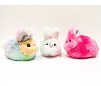 Douglas Cuddle Toy Plush Lil' Bitty Bunny Confetti/Rainbow/Pink  Mystery Item