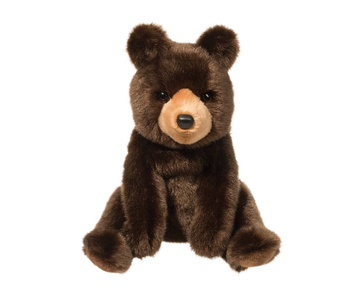 Douglas Cuddle Toy Plush Cal Brown Bear