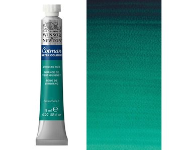 COTMAN WATERCOLOUR 8ML VIRIDIAN HUE