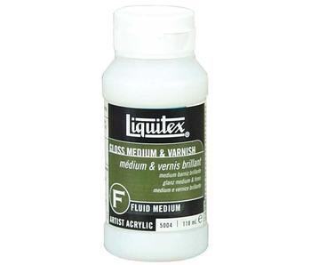 Liquitex Gloss Medium & Varnish - 237ml (8 oz)
