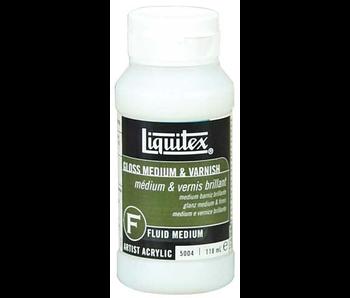 Liquitex Gloss Medium & Varnish - 237ml (8 oz)