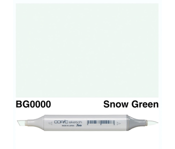 COPIC SKETCH BG0000 SNOW GREEN