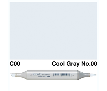 COPIC SKETCH C00 COOL GREY