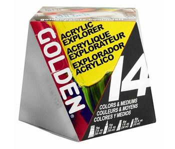 Golden Acrylic A-Z Starter Set 14Pk